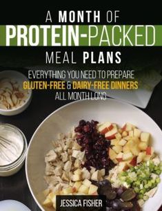 Need new ideas for gluten- and dairy-free meals? A Month of Protein-Packed Meal Plans gives you a solid meal plan with 4 weeks of menus that are easy enough for weeknights. Healthy homemade dishes that are perfect for Paleo/whole 30 diets. Healthy Food List, Healthy Meals For Two, Easy Meals, Healthy Eating, Healthy Recipes, Whole30 Recipes, Clean Eating Challenge, Dairy Free Recipes, Gourmet Recipes