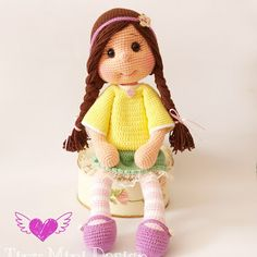 Amigurumi Bebek - Amigurumi Doll