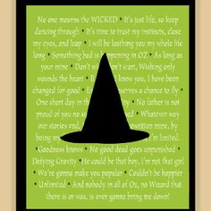 Wicked quotes (maybe even something to make later)