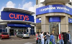 Dixons and Carphone Warehouse agree £3.8bn merger