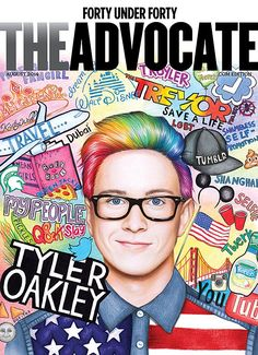 40 Under 40: Tyler Oakley Could Be The First Gay Person You Ever Met   Advocate.com
