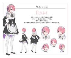 Sakai Kyuuta, White Fox, Re:Zero Kara Hajimeru Isekai Seikatsu, Ram (Re:Zero)