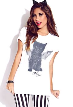 Womens graphic tees, t-shirt and tank | shop online | Forever 21 - 2000076361