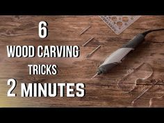 In this wood carving tricks/tips tutorial, I show 6 power carving tricks I personally use with my Dremel for wood carving! 👇 Find the tools in this video on . Dremel Werkzeugprojekte, Dremel Carving, Wood Carving Tools, Wood Tools, Wood Carvings, Carving Knife Set, Chip Carving, Wood Carving Designs, Wood Carving Patterns