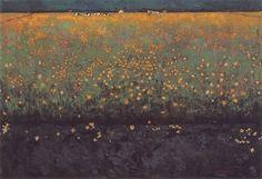 Jan Mankes 1914 Lush Landscape. oil