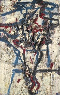 Frank Auerbach J.Y.M. IN THE STUDIO V