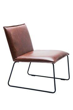 kare design st hle stuhl niels vintage brown st hle. Black Bedroom Furniture Sets. Home Design Ideas