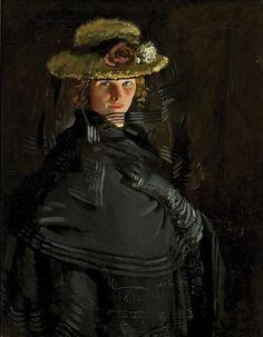 WILLIAM ORPEN 1878 - 1931 Portrait of Grace Orpen