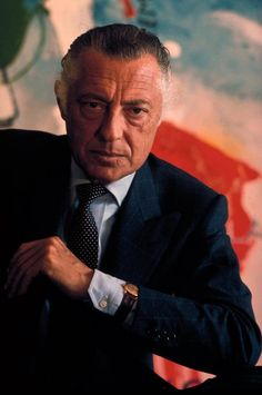 Gianni Agnelli.  One of the most elegant and eccentric men of the 900.