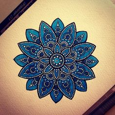 #мандала #mandala #акварель #watercolor #графика #узор #   Flickr