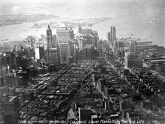 Lower Manhattan, 1926