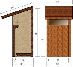 le nichoir semi ouvert convient au rougegorge. Black Bedroom Furniture Sets. Home Design Ideas