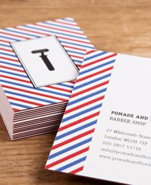 barbershop luxe cards by moo
