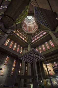 interieur glise saint joseph le havre architecte auguste perret vault and structure. Black Bedroom Furniture Sets. Home Design Ideas