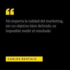 No importa la calidad del marketing, sin un objetivo bien definido, es imposible medir el resultado