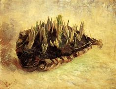 Still Life with a Basket of Crocuses - Vincent van Gogh