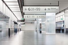 5   Elegant or Illegible? Vienna Unveils Its Custom-Designed Airport Signage   Co.Design   business + design