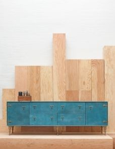 swoon..... FURNITURE | LEATHER CREDENZA | BDDW