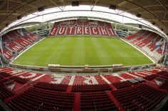 FC Utrecht - Galgenwaard - NL. 2007. Utrecht, Soccer Stadium, Football Stadiums, Visit Amsterdam, By Train, Holland, Baseball Field, Architecture, City