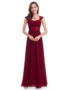 Shop for Bayley Burgundy Wine Red Claret Chiffon Long Maxi Bridesmaid  Evening Ballgown Party Cruise Formal Occasion Dress FREE UK Delivery  Discount. 56221712fa9