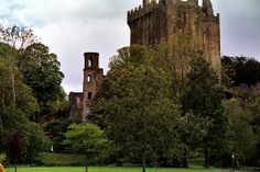Blarney Castle - kissing the blarney stone, walking the gardens, etc.