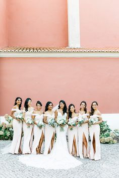 Beautiful Brand Wedding Dresses : Intimate Destination Wedding at Ritz Carlton Penha Longa Bridesmaid Dress Styles, Brides And Bridesmaids, Wedding Dresses, Wedding Bouquets, Traditional Wedding Favours, Phuket Wedding, Wedding Photography Inspiration, Wedding Photos, Wedding Ideas