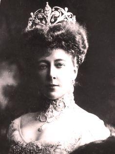 Portrait of Princess Stéphanie of Belgium (1864-1945)