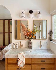 Home Interior Living Room .Home Interior Living Room Bad Inspiration, Bathroom Inspiration, Boho Home, Bathroom Renos, Bathroom Vanities, Trough Sink Bathroom, Bathroom Ideas, Remodled Bathrooms, Bathroom Designs