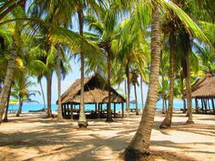 El Matuy in Palomino, Colombia, is an all inclusive beach paradise. Cabañas overlooking the blue Caribbean Sea & soft, white sand beaches.