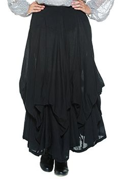 Women's Victorian Inspired Gathered Pick Up Full Bustle Petticoat Long Day Skirt (Large, Black) Solitaire http://www.amazon.com/dp/B00PYTZMNM/ref=cm_sw_r_pi_dp_IphTub1NBTS97