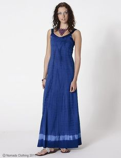 02ac236aeb5 Hippy Dress~Bohemian Tie Dye Organic Maxi Dress~Fair Trade By Folio~TJ22