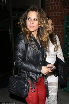 Mexican authorities are looking to speak with actress Kate del Castillo over the meeting she reportedly had with druglord Joaquin 'El Chapo' Guzman. The actress pictured above in Los Angeles on Monday