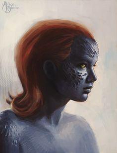 Mystique / X-Men by a-lise.deviantart.com on @deviantART