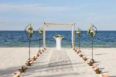 gazebos boda playa - Buscar con Google