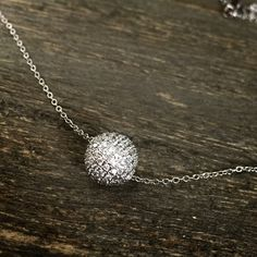 925 Sterling Silver Crystal Ball •This classic design Crystal Ball pendant, adds the perfect touch of balance set A+ quality cubic zirconias. This jewelry is crafted of platinum over sterling silver in a polished finish•                                                              •Platinum-overlay SOLID .925 Sterling Silver                                                                        •Excellent Quality  BRAND NEW WITH TAG•SAME DAY OR NEXT DAY SHIPPING•BUNDLE TO SAVE• NO LAWBALLING…