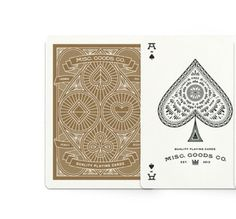 Red v2 Playing Cards from Misc Goods.