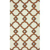 Found it at AllModern - Trellis Orange Naara Area Rug