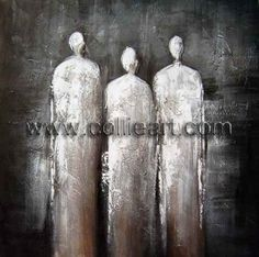 Modern decorative abstract people CL464
