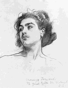 """Fan account of John Singer Sargent, an American artist, considered the """"leading portrait painter of his generation"""" for his depictions of the Edwardian era John Singer Sargent, Sargent Art, Life Drawing, Figure Drawing, Painting & Drawing, Learn To Sketch, Harvard Art Museum, Charcoal Portraits, Gravure"""