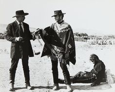 Lee Van Cleef and Clint Eastwood in The Good, The Bad and The Ugly (1966)