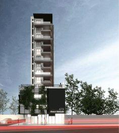 Térreo Arquitetos - edifício multifamiliar + vegetação Willis Tower, Building, Travel, Architects, Woods, Viajes, Buildings, Traveling, Trips