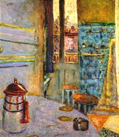 PIERRE BONNARD The Coffee Pot (c.1937) One of my favorite artists. Love his colors and brushstrokes.