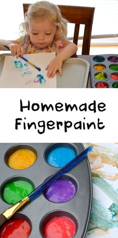 Easy DIY Homemade Fingerprint for toddlers - Mommy Scene