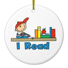 Hang Read ornaments from Zazzle on your tree this holiday season. Stick Figure Drawing, Clip Art, Painted Ornaments, Peanuts Gang, Morning Messages, Stick Figures, Bulletin Boards, Hand Embroidery, Rocks