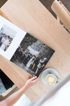 The Layflat Photo Album features professional-grade Mohawk papers, ultra-thick pages and a customizable foil-stamped cover and spine. Wedding Album Cover, Wedding Album Layout, Wedding Album Design, Wedding Photo Albums, Wedding Paper, Wedding Guest Book, Album Cover Design, Wedding Photoshoot, Photo Book