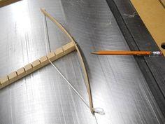 Arch Drawing Jig / Gabarit pour tracer des arcs
