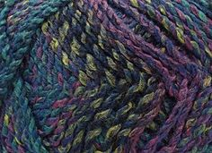 Marble Chunky Knitting Yarn by James Brett 200g PurpleBlueTeal MC8 * To view further for this item, visit the image link.