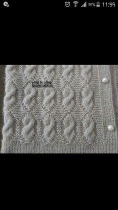 """diy_crafts- Knitted Women's Vest, Cardigan, Sweater knit knitting crochet Knitted Women Vest Cardigan Sweater """"This post was discovered Baby Knitting Patterns, Knitting Designs, Knitting Stitches, Knitting Projects, Stitch Patterns, Crochet Patterns, Easy Knitting, Knitting For Beginners, Knitting Sweaters"""