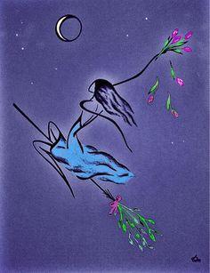Публикация: Линии силуэтов в рисунках Татьяны Марковцевой. | Сообщество «Состояние души»