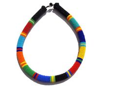 Hey, I found this really awesome Etsy listing at https://www.etsy.com/listing/198531457/zulu-inspired-multicolored-beaded